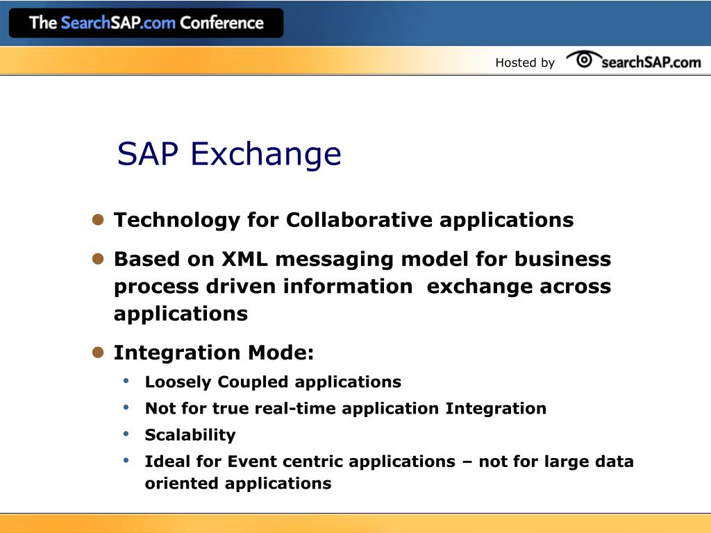 SAP Exchange