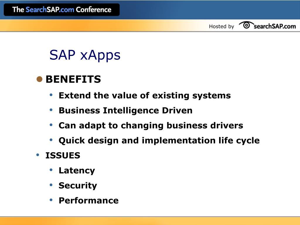 SAP xApps
