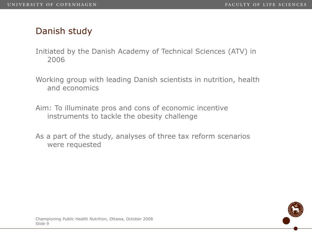 Danish study