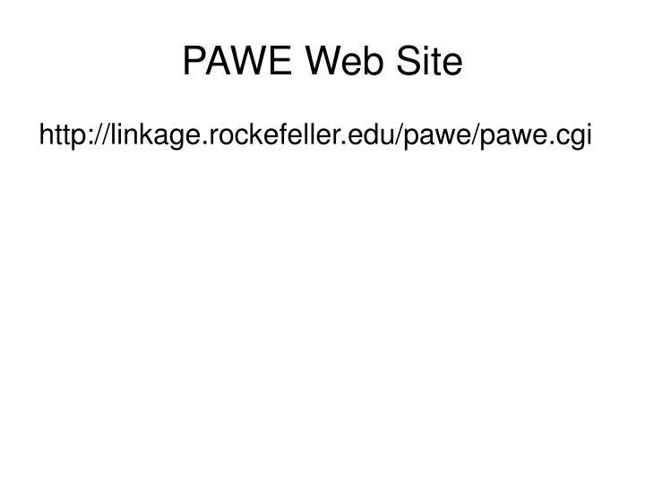 PAWE Web Site