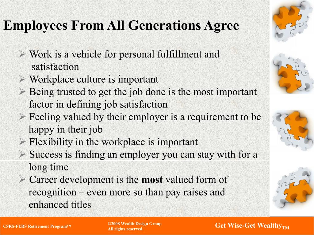 Employees From All Generations Agree