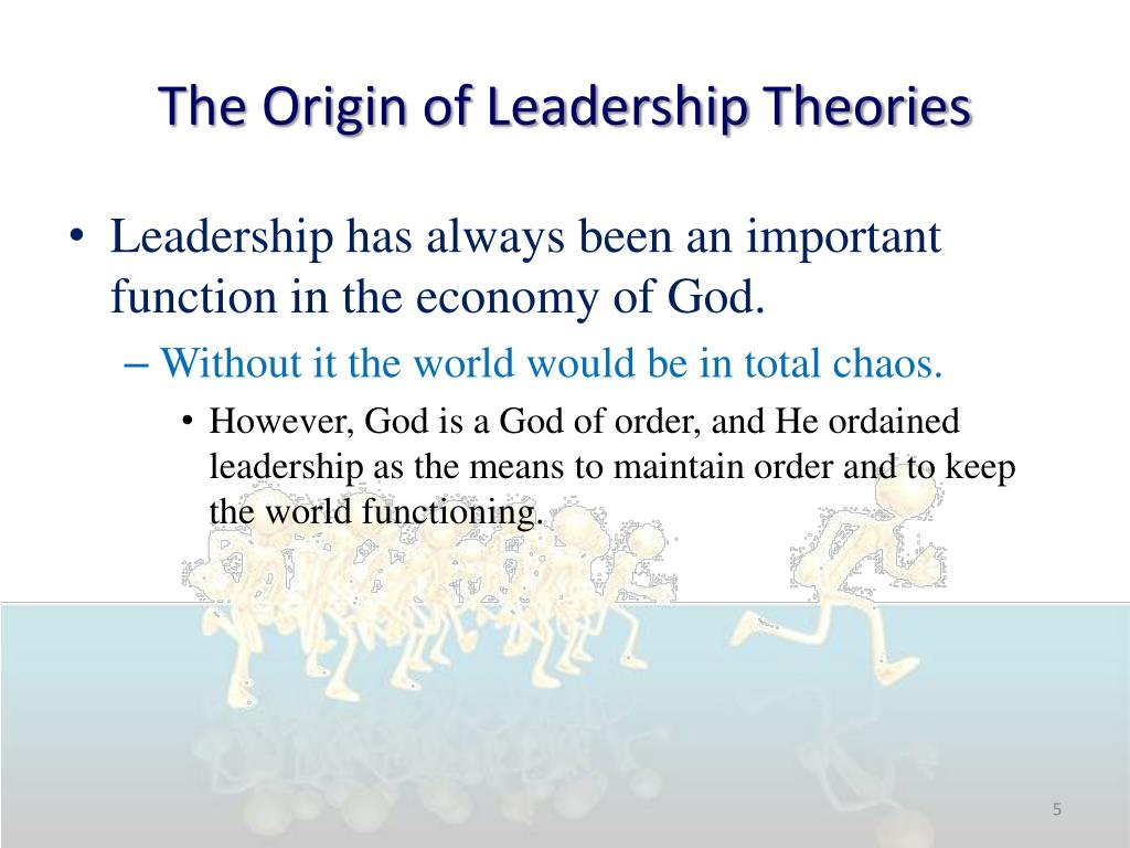 the history of the leadership theory history essay The history of the transformational leadership education essay  a part of transformational leadership in the theories of bass and avolio(1994)  of this essay .