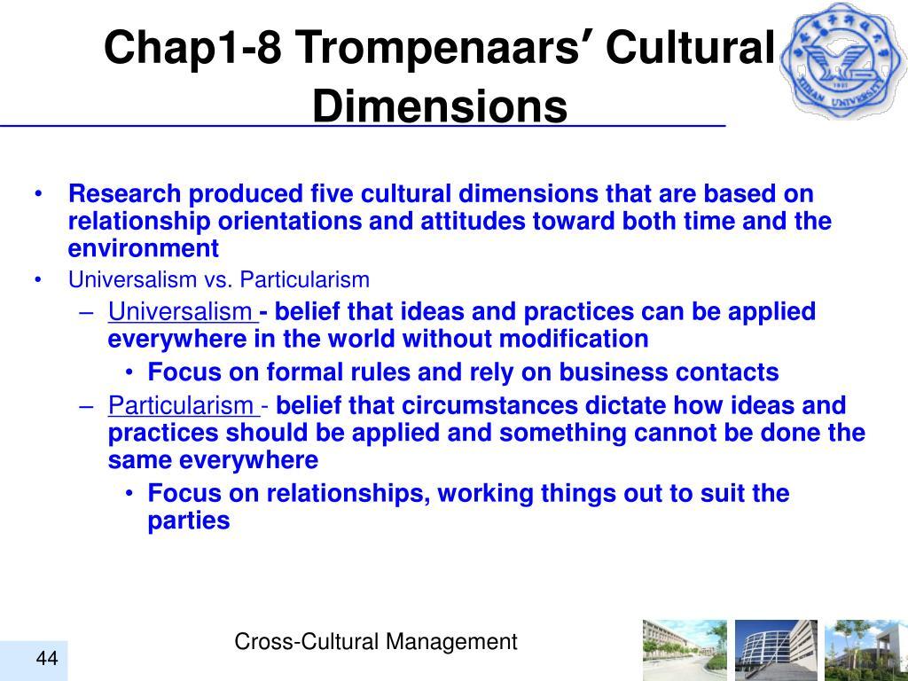 Chap1-8 Trompenaars