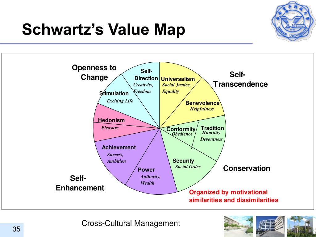 Schwartz's Value Map