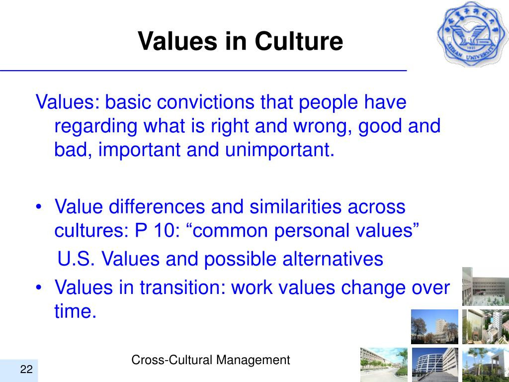 Values in Culture