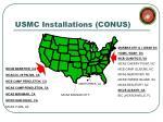 usmc installations conus