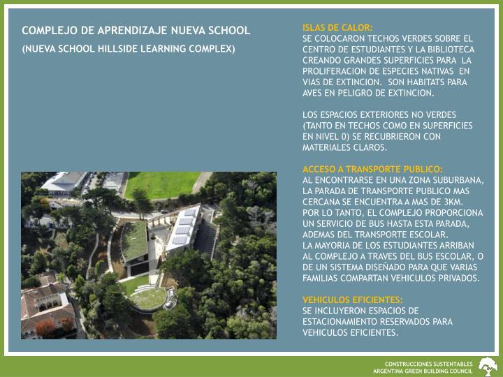 ISLAS DE CALOR: