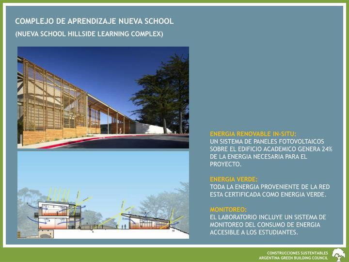 COMPLEJO DE APRENDIZAJE NUEVA SCHOOL