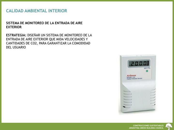 CALIDAD AMBIENTAL INTERIOR