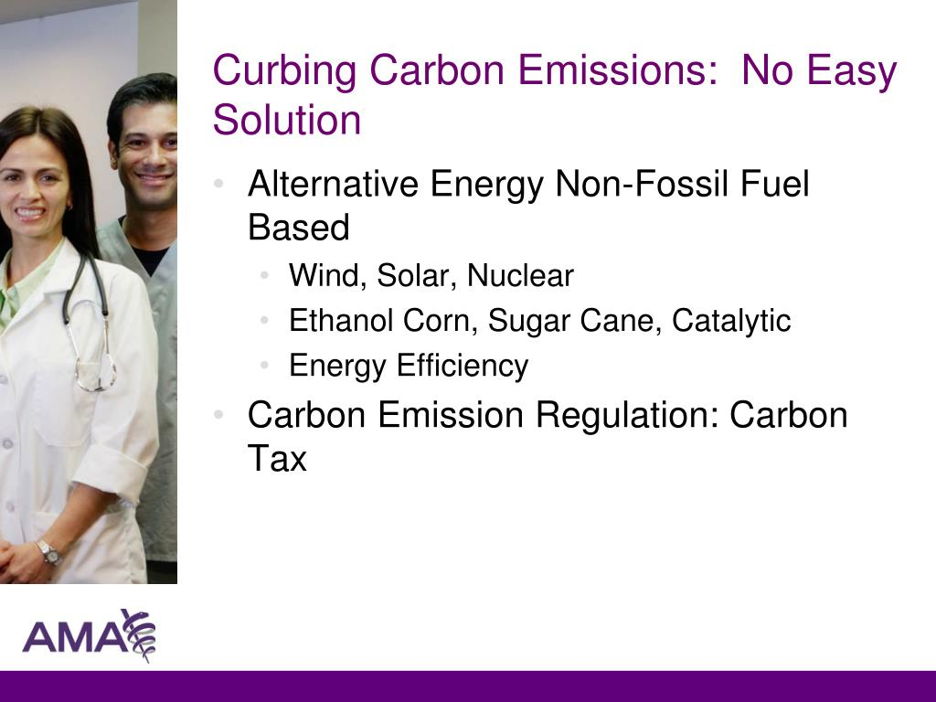 Curbing Carbon Emissions:  No Easy Solution