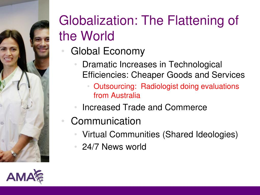 Globalization: The Flattening of the World