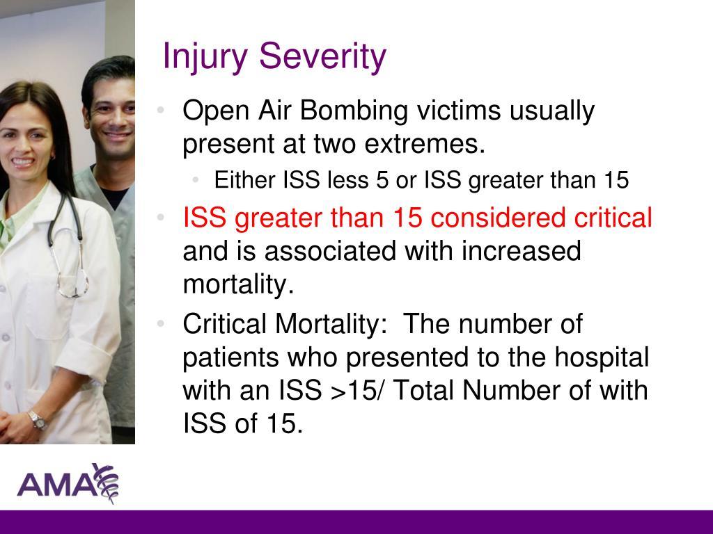 Injury Severity