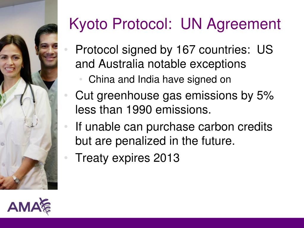 Kyoto Protocol:  UN Agreement