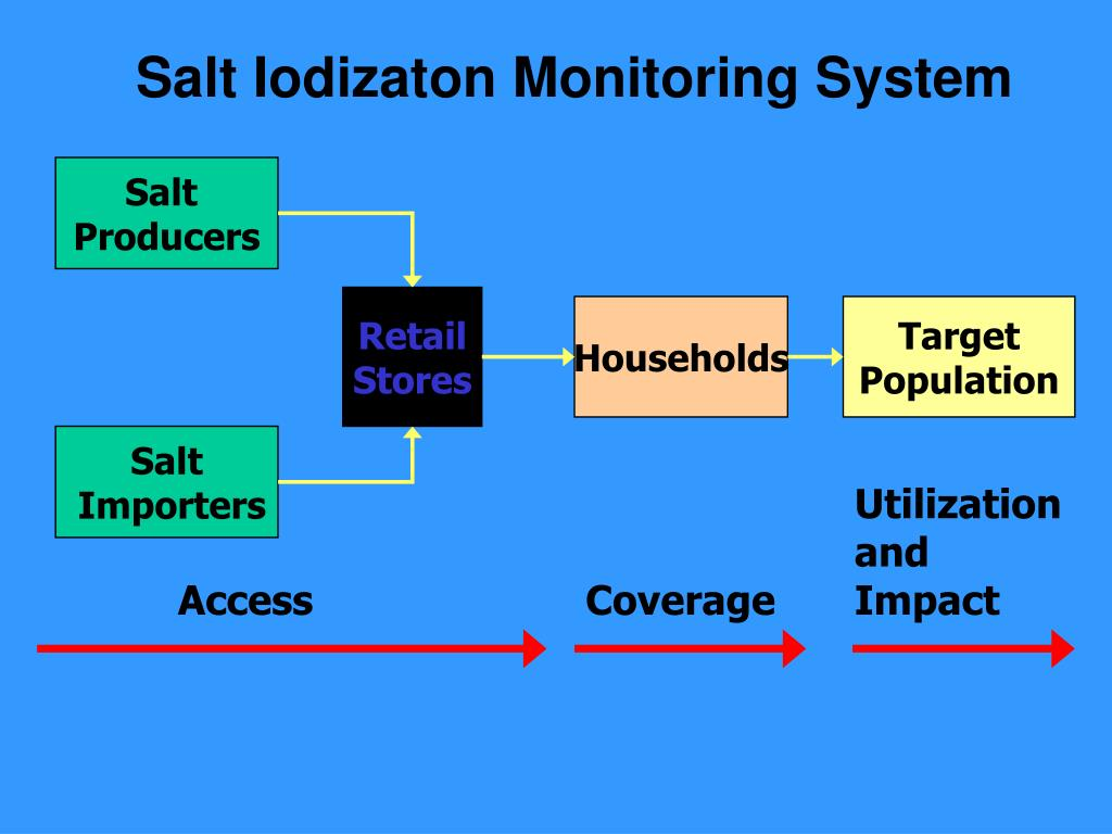 Salt Iodizaton Monitoring System