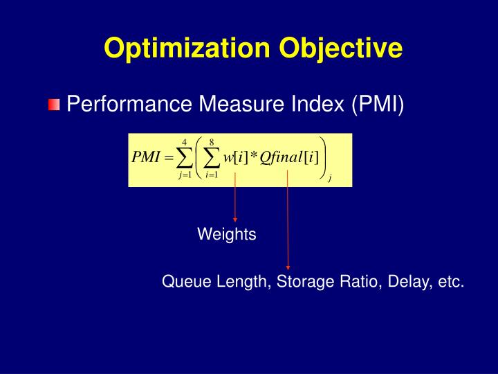 Optimization Objective