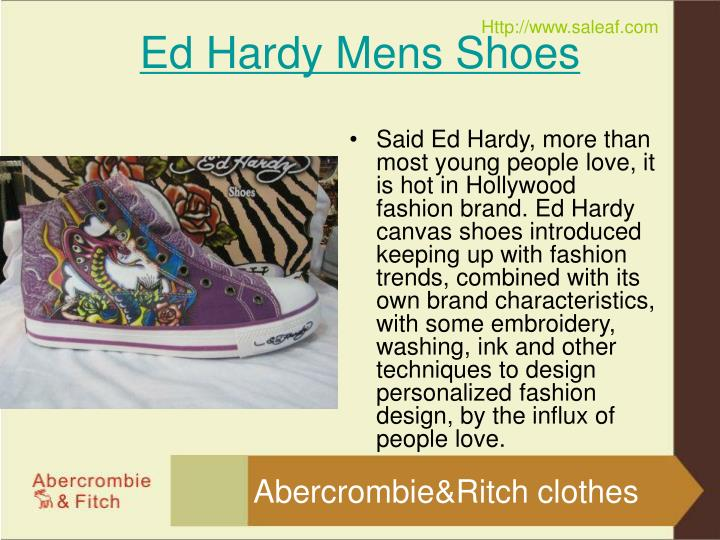 Ed hardy mens shoes