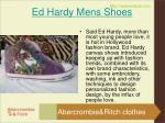ed hardy mens shoes