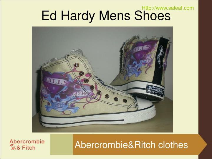 Ed hardy mens shoes3