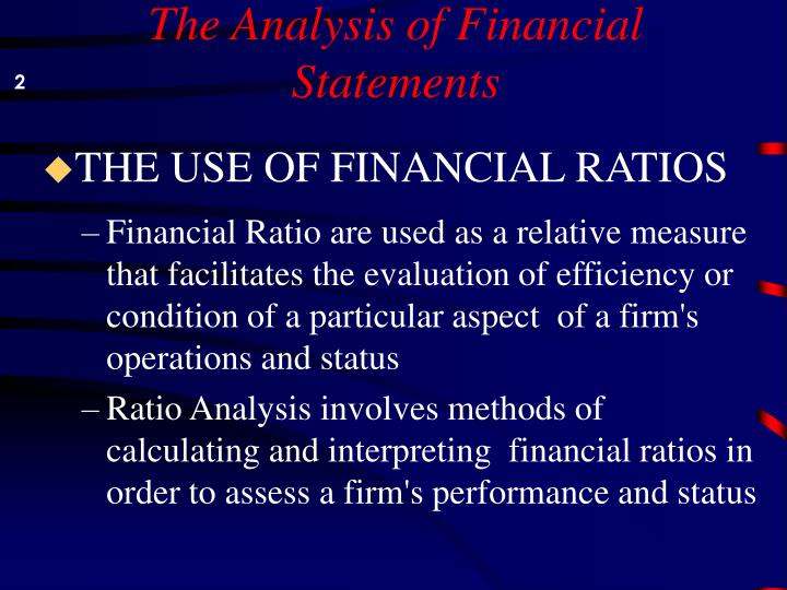 The analysis of financial statements l.jpg