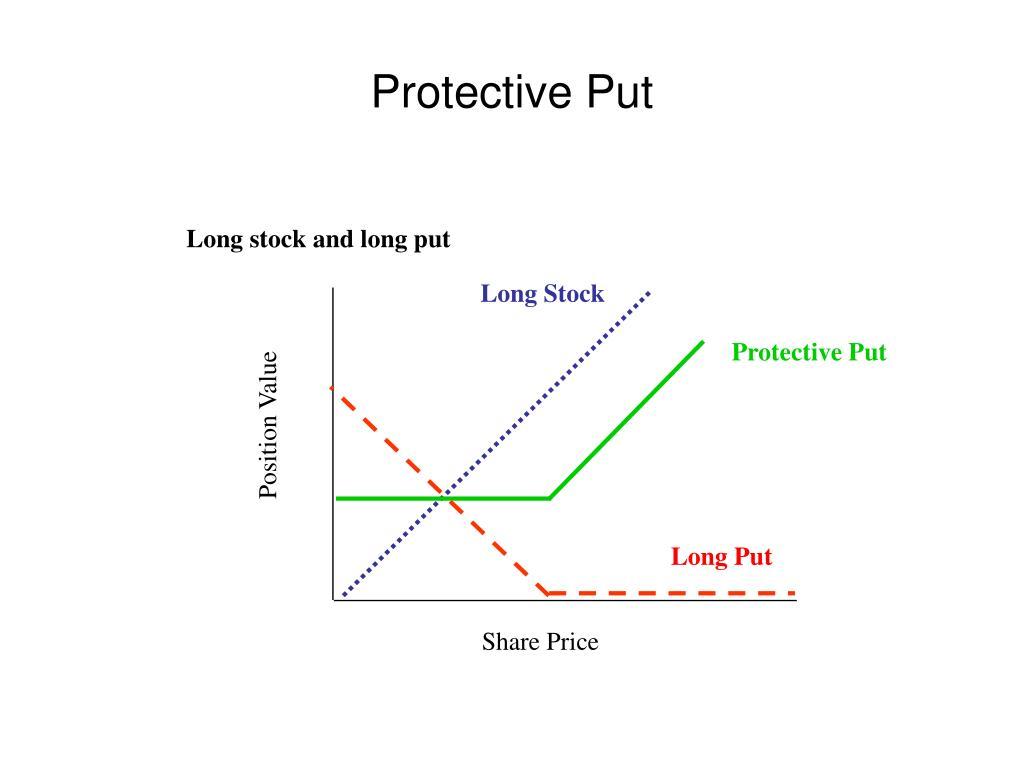 Long stock and long put