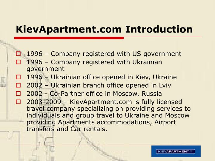 Kievapartment com introduction