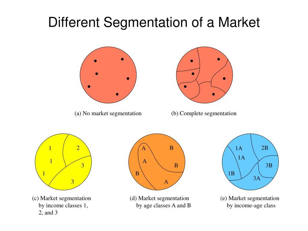 (a) No market segmentation