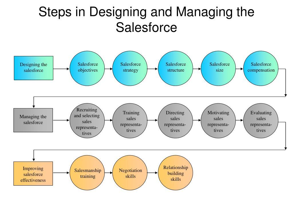 Salesforce objectives