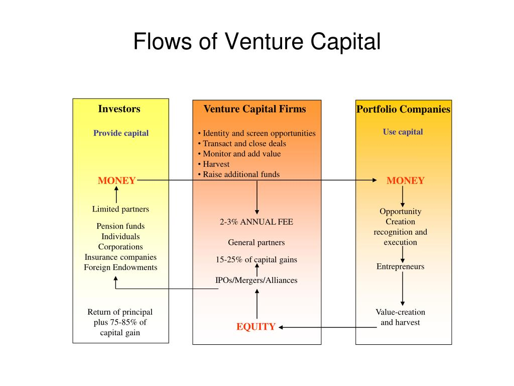 Flows of Venture Capital
