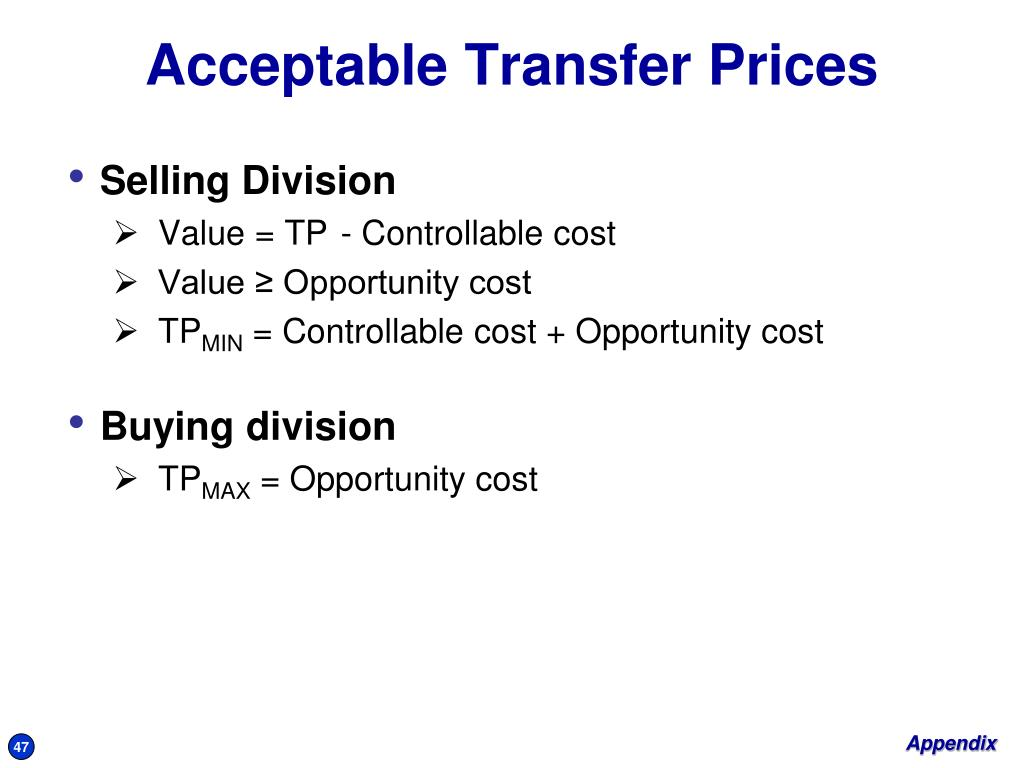 Selling Division