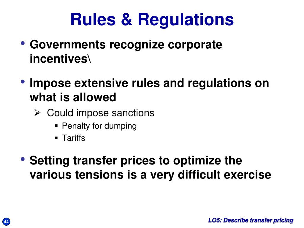 Governments recognize corporate incentives\