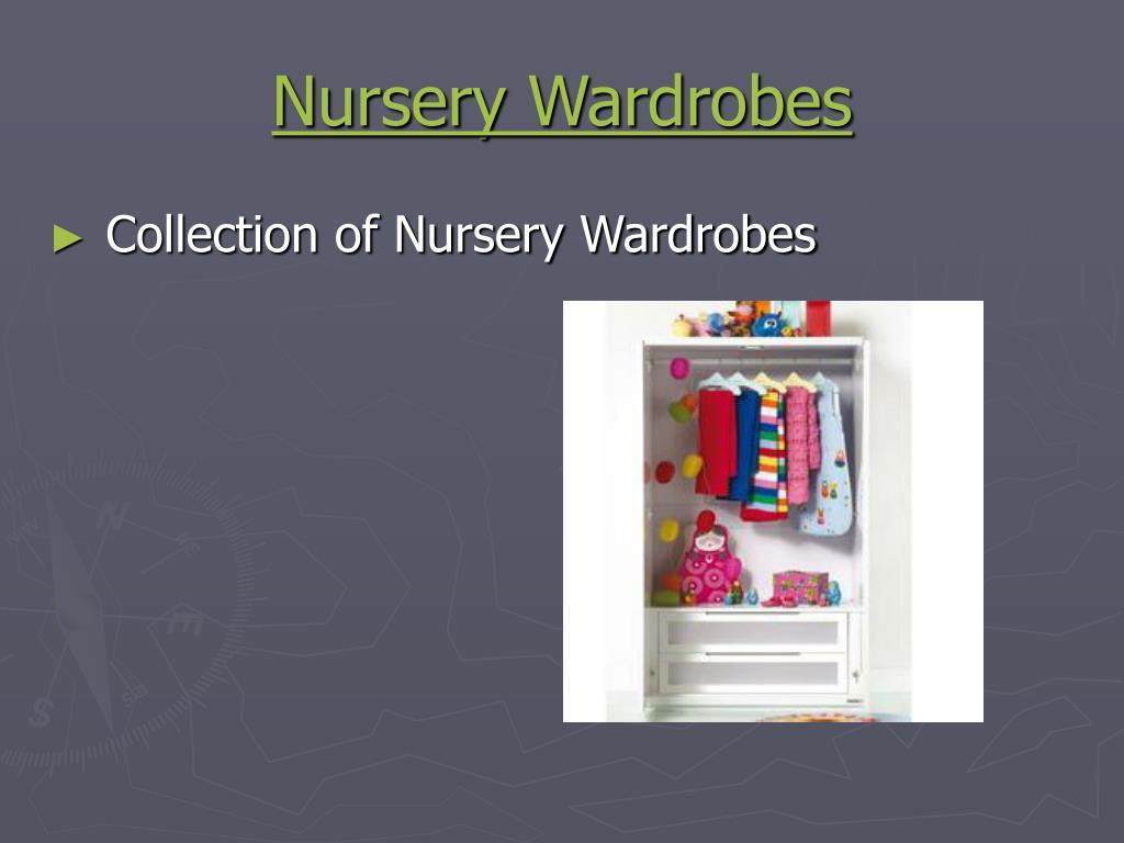 Nursery Wardrobes