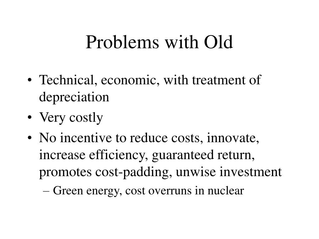 Problems with Old