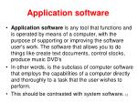 application software10