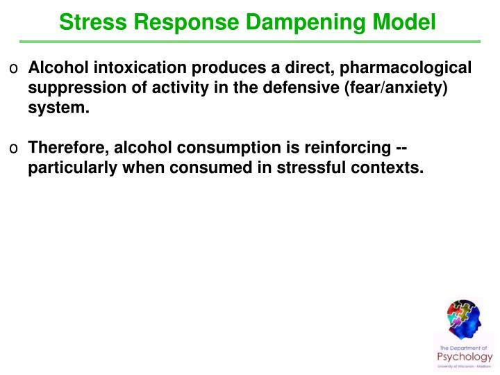 Stress Response Dampening Model
