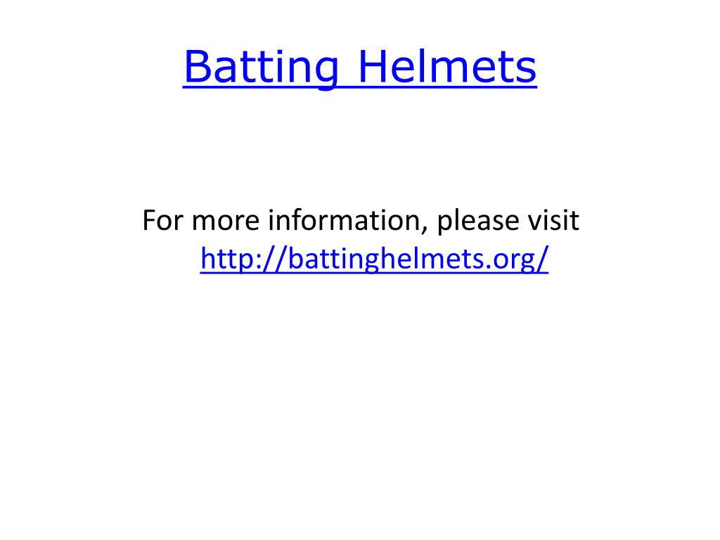 Batting Helmets