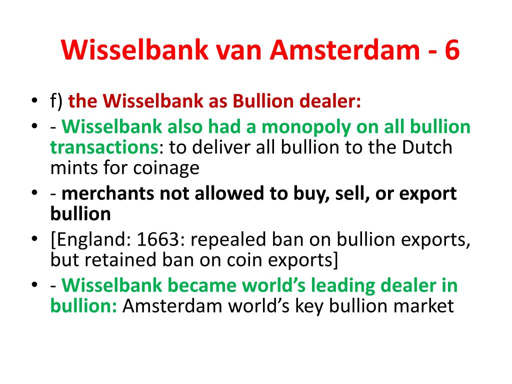 Wisselbank van Amsterdam - 6