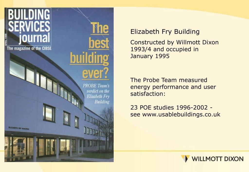Elizabeth Fry Building