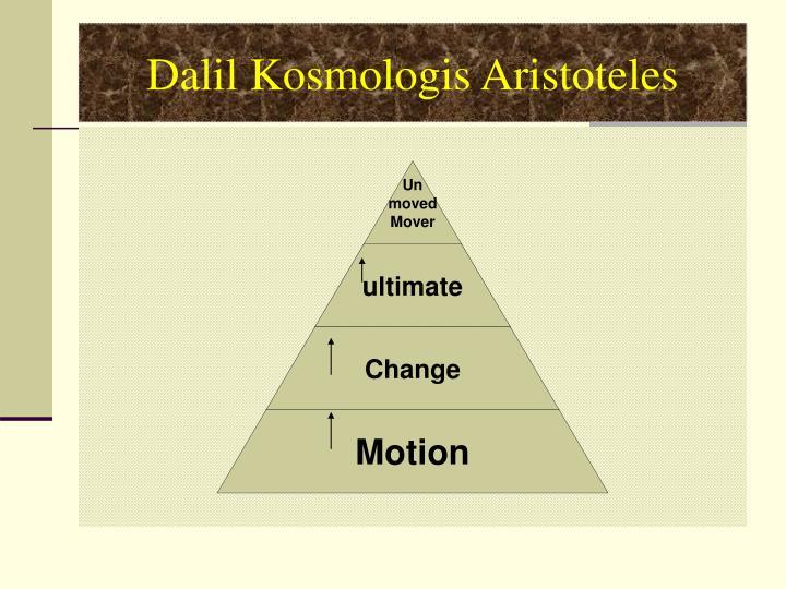 Dalil Kosmologis Aristoteles