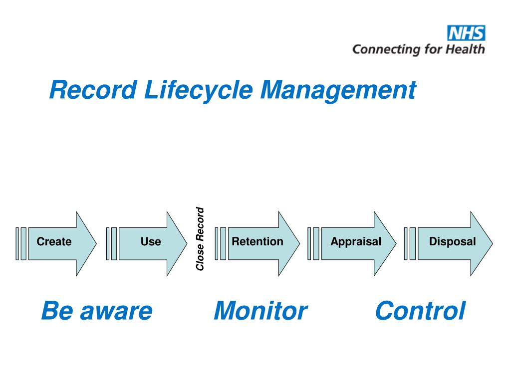 record control management The purpose of this procedure is to ensure control over the creation,  (also  called: documented information) used in the qms (quality management system.