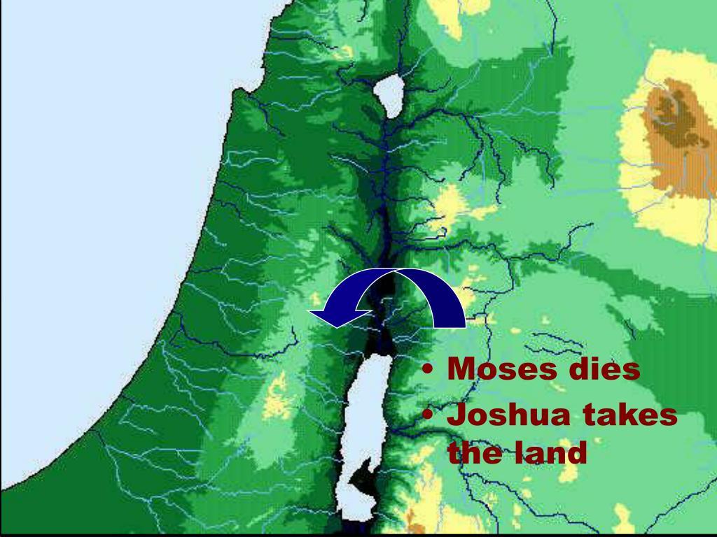 Moses dies