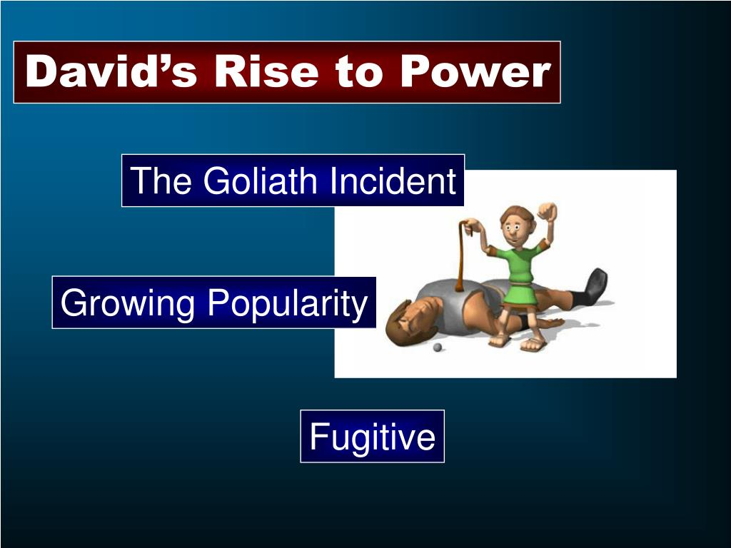 David's Rise to Power