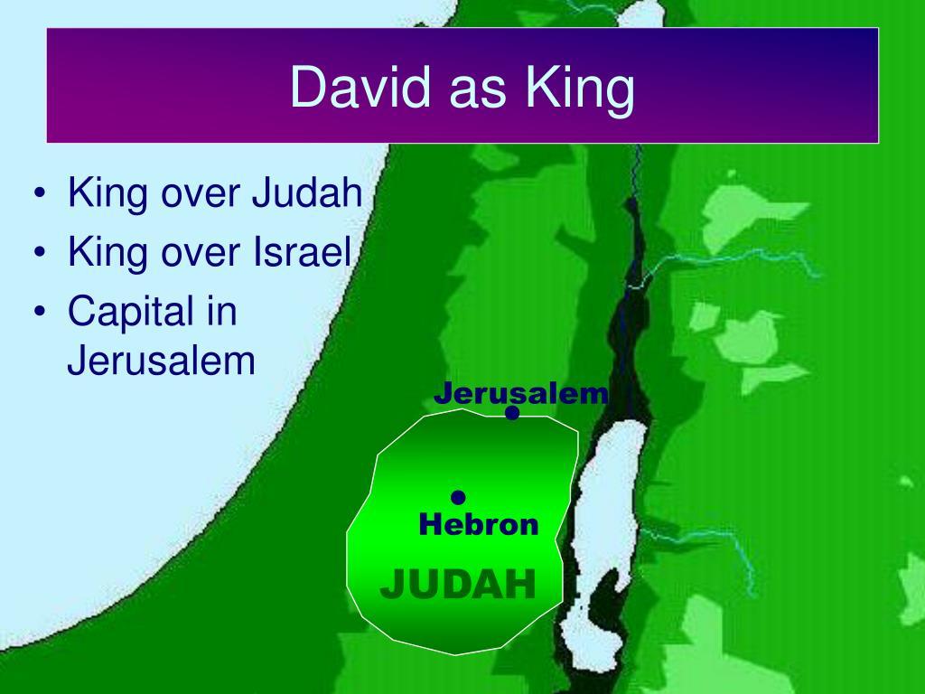 David as King