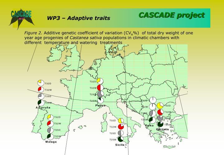 WP3 – Adaptive traits