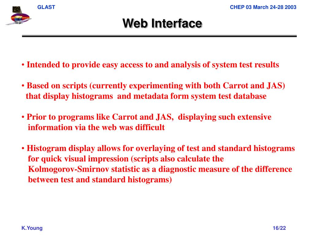 Web Interface