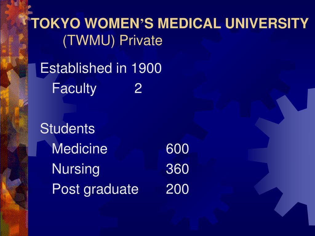 TOKYO WOMEN