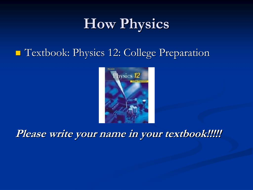 How Physics
