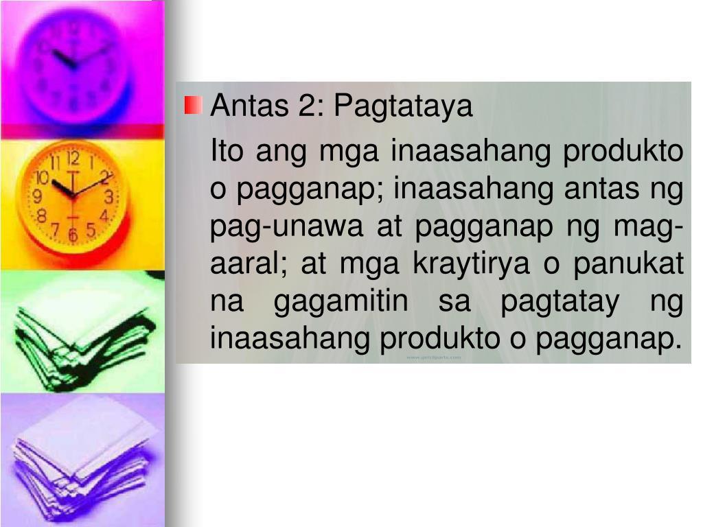 Antas 2: Pagtataya
