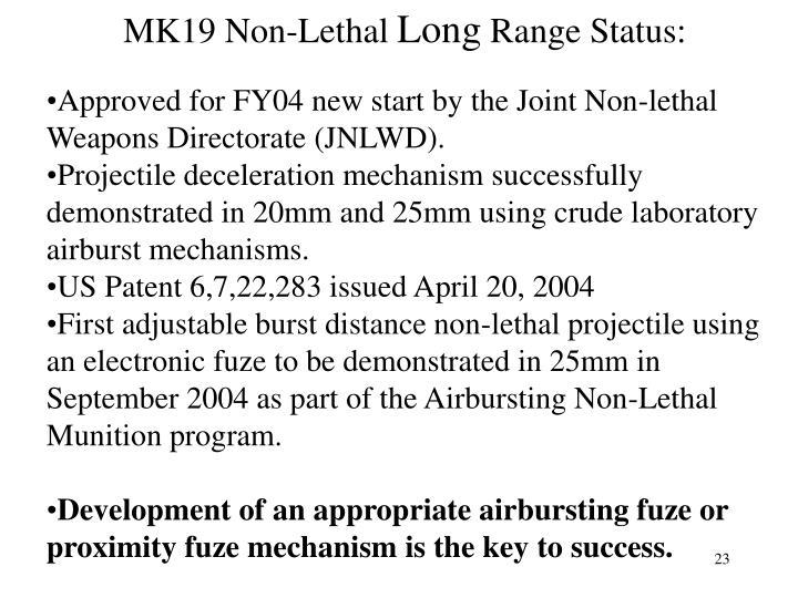 MK19 Non-Lethal