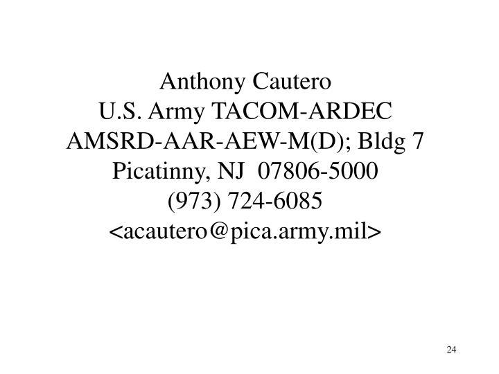 Anthony Cautero