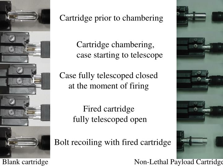 Cartridge prior to chambering